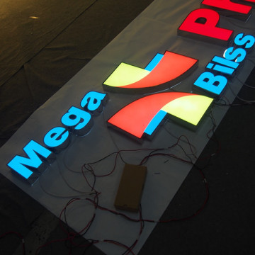 Restaurante LED Sign Sign Box Custom Made