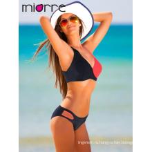 Элегантный Miorre летний сезон ОЕМ Женская Спортивная линия купальники бикини набор