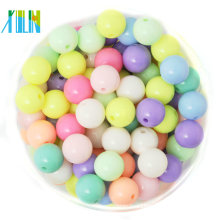 Wholesale DIY Solid Acrylic Plastic Beads For Jewelry