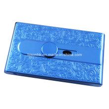 Art- und Weiseentwurfs-Firmenname-Karten-Kasten, Hand push Karten-Halter