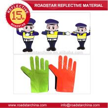 Prismatische pvc Film Verkehr reflektierenden Handschuh