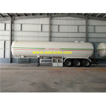 54m3 Tri-axle Propane Gas Delivery Trailers