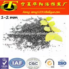 Carga granulada do carvão ativado em kg