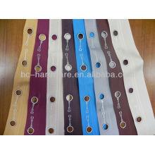 Saudi Arabia Curtain tape / eyelet curtain tape with rings