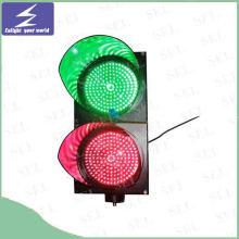 Hohe Sichtbarkeit LED Solar Powered Traffic Blinklicht / Signal Blinkleuchte