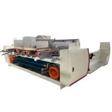 Single two pieces gluer semi automatic for carton corrugated box packer