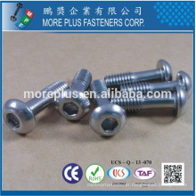 Made in Taiwan Stainless Steel A4 Socket Button Head Special Cap Screw Captive Screw
