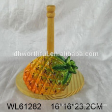 2016 новый дизайн ананаса шаблон кухня бумажный полотенце держатель