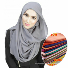 Hot Selling whosale women wear easy Islam muslim scarf chiffon hijab