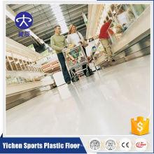 Revestimento de vinil comercial interno homogêneo do PVC