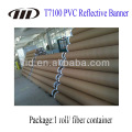 Impressão de publicidade ao ar livre de tecido reflexivo de PVC
