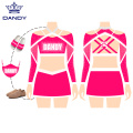 Crop Top Strass All Star Cheerleading Uniform