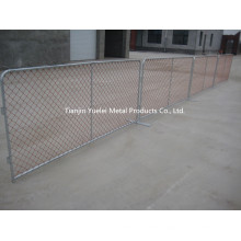 Temporary Fence Used for Barrier/Temporary Construction Chain Link Fence/China Metal Sheet Temporary Fence