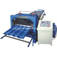 Máquina formadora de rollos de azulejos galvanizados automática