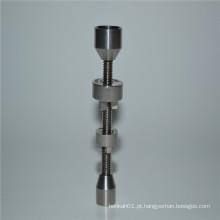 Duo 14 / 18mm Dome Titanium prego para fumar por atacado (ES-TN-045)