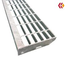 Anti-slip galvanized stair treads/steel grating for industrial platform