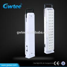 Wiederaufladbare LED-Gehäuse Notbeleuchtung