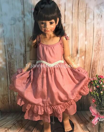 Lovely Suspenders Party Dress