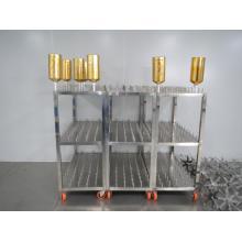 machine de pulvérisation de bouteille en verre en métal