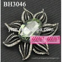 Broches de jóias de strass de fantasia