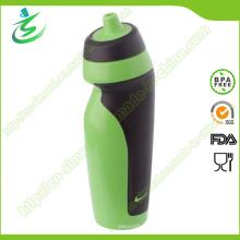 Bouteille d'eau sport sport pliable libre de 600 ml avec étiquette privée