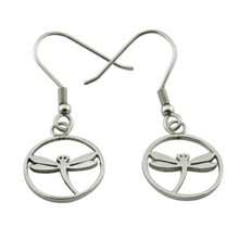 Dragonfly Fashion Earring Stainless Steel Jewelry