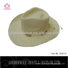 Paja de papel mexicano sombrero de vaquero CL2114