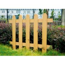 1000 * 800 2014 Eco-Friendly Hot Sale en plein air en bois en plastique composite WPC Clôture (CKW-DD2401)