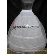 3 Hoops Petticoats Ballkleid Verstellbare Größen Crinoline Braut Zubehör Underskirt für Hochzeit / Prom / Quinceanera Kleid