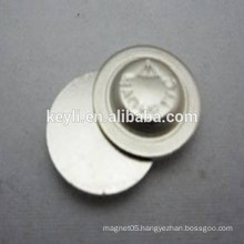 Magnetic Round Button Name Badge