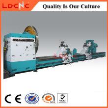 Máquina de torno de precisão de torneamento horizontal de metal horizontal C61200 Heavy Duty
