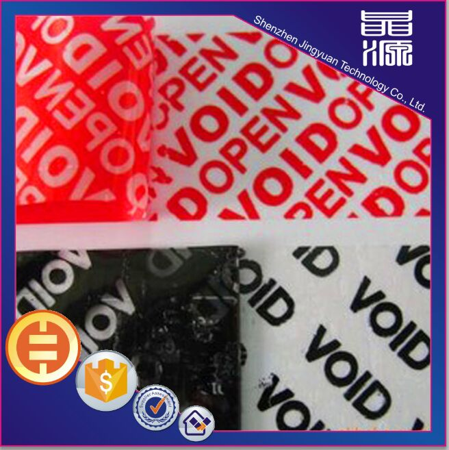 VOID Hologram Security Label Sticker