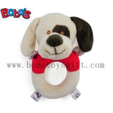 "6"" Plush Stuffed Soft Dog Handbell Toys for Infant"