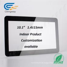 Anti-Smudge (AS) Optische Behandlungen 10.1 Zoll Interaktive Touch-Glas-Overlay