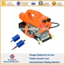 Máquina de soldadura de geomembrana de PVC de HDPE LLDPE