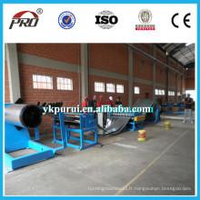 Ligne de production automatique de bobine d'acier en acier / ligne de coupe en acier