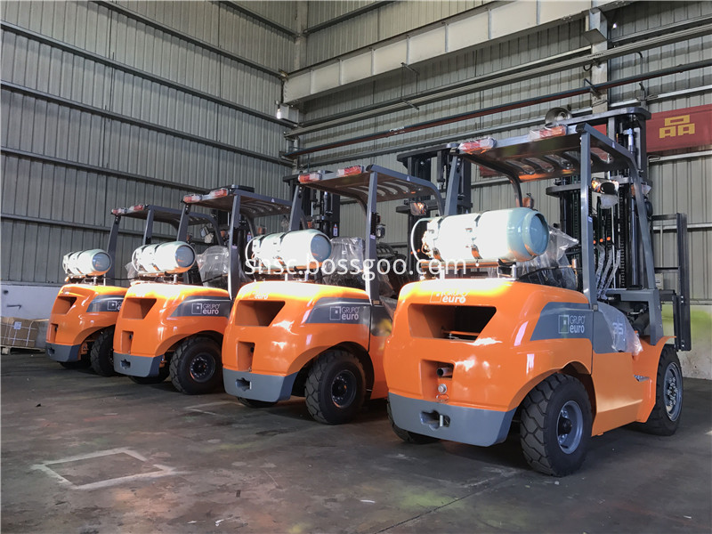 3.5ton gas forklift to Argentina from sheri06