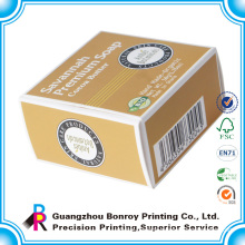 Customized cheap handmade packaging soap boxes printing