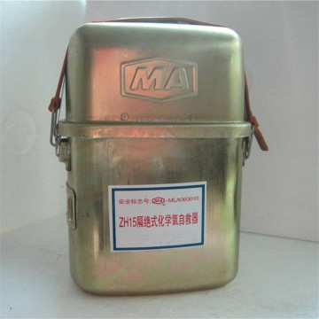 Coal Mining Chemical Oxygen Self Rescuer ZH45