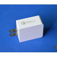Chargeur de voyage Chargeur mural USB QC3.0 Adaptateur EU / Us