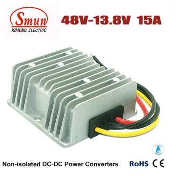 48VDC impermeável ao conversor do fanfarrão da CC da CC de 13.8VDC 15A 207W
