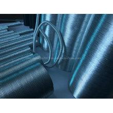 Thermo-beständiges, gewölbtes, flexibles Aluminium-Schutzrohr