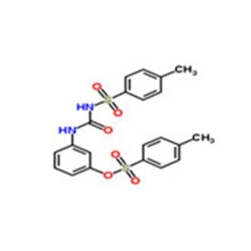 Benzenesulfonamide,4-methyl-N-[[[3-[[(4-methylphenyl) sulfonyl]oxy]phenyl]amino]carbonyl]- CAS 232938-43-1