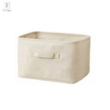 Prix bon marché coton boîte de stockage de tissu boîte de vêtements