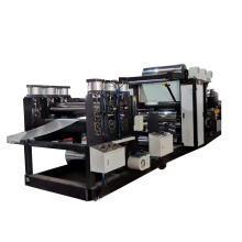 Plastic film laminated steel coil production line