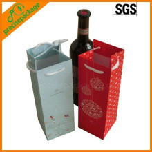 reusable hot sell cotton rope paper wine bottle bags cheap