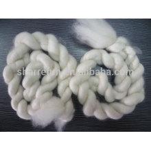Top 100% cachemire blanc mongol blanc