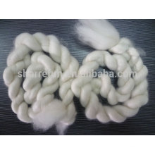 100% pure dehaired Inner Mongolian white cashmere tops