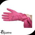 SRSAFETY длинная латексная водонепроницаемая перчатка для уборки дома