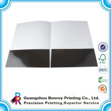 Printed On One Side Handmade Custom Paper File Folder Printing